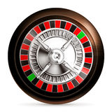 Roulette insignia Royalty Free Stock Image