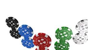 Roulette, juego del casino, juegos reales, el mejor 3D ejemplo, la mejor animación stock de ilustración
