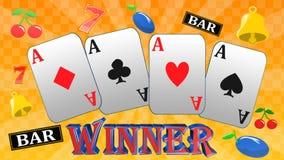 Roulette, juego del casino, juegos reales, icono, muestra, el mejor ejemplo 3D ilustración del vector