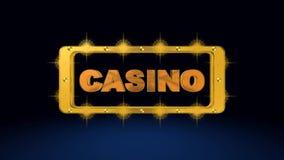 Roulette, Kasinospiel, königliche Spiele, beste 3D Illustration, beste Animation lizenzfreie abbildung