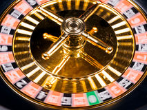 Roulette machine spins Royalty Free Stock Photos