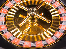 Roulette machine spins Royalty Free Stock Images