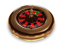 Roulette mit Jahren. Bild 3D Lizenzfreies Stockbild