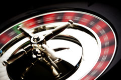 Roulette in motion Royalty Free Stock Photo