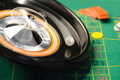 Roulette in motion Royalty Free Stock Images