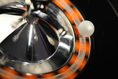 Roulette in motion Stock Image
