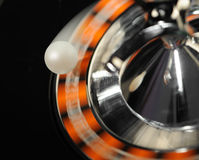 Roulette in motion with path Royalty Free Stock Images