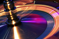 Roulette nella rotazione Fotografia Stock Libera da Diritti