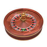 Roulette Over White Royalty Free Stock Images