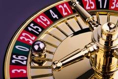 Roulette-Rad Lizenzfreies Stockbild
