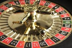 Roulette-Rad stockfoto