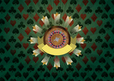 Roulette ribbon Stock Images