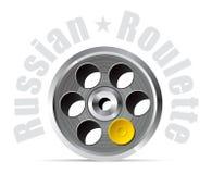 Roulette russe Images libres de droits