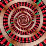 Roulette se développant en spirales vers le bas Photos libres de droits