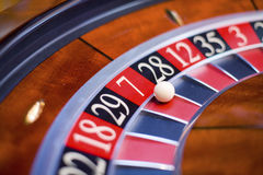 Roulette segment. Seven-up. Royalty Free Stock Photos