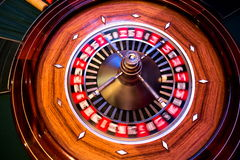 Roulette spinning Stock Images