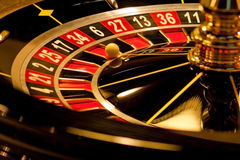 Roulette stopped Stock Photos