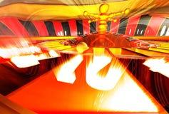 Roulette su fuoco Illustrazione di Stock