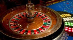 Roulette-Tabelle Lizenzfreie Stockbilder