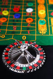 Roulette table. Children's game for home roulette table stock images