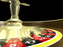 Roulette table 3D Render Royalty Free Stock Images