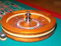 Roulette Table 4. Roulette wheel and table royalty free stock images