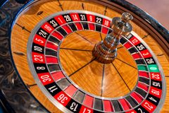 Roulette table Stock Image