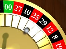 Roulette Stock Photography