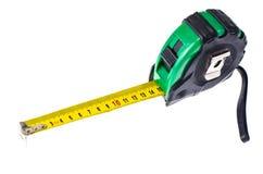 Roulette verte de construction Photographie stock