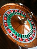 Roulette wheel. A roulette wheel in natural light royalty free stock photography