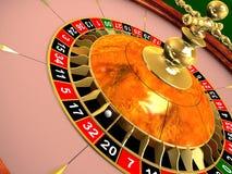 Roulette wheel. 3d rendered illustration of a roulette wheel vector illustration