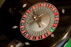 Roulette wheel. A very nice roulette wheel in the shop Stock Photo