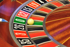 Roulette wheel Stock Photography