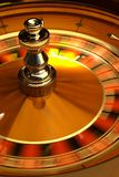 ROULETTE WHEEL. Spinning roulette wheel royalty free stock photos