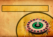 Roulette wheel background Royalty Free Stock Photography