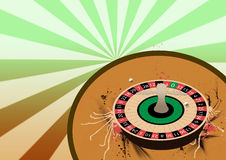 Roulette wheel background Royalty Free Stock Photo