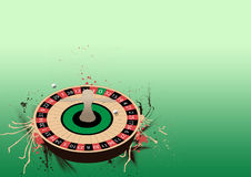 Roulette wheel background Royalty Free Stock Images