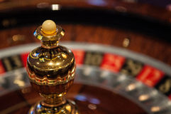 Roulette wheel casino Royalty Free Stock Image