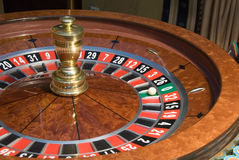 Roulette wheel close-up Royalty Free Stock Photos