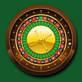 Roulette Wheel French Number Sequence royalty free illustration