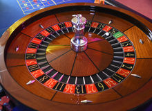 Roulette wheel gambling Royalty Free Stock Photography