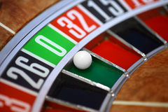 Roulette wheel Stock Photo