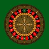 Roulette Wheel Icon Royalty Free Stock Photo