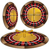 Roulette Wheel Set Royalty Free Stock Photography