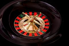 Roulette Wheel2. Spinning the roulette wheel Royalty Free Stock Image