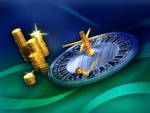 Roulette winner Stock Images