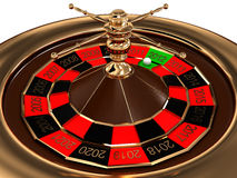 Roulette with years Stock Images