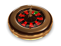 Roulette with years. 3D image Royalty Free Stock Image