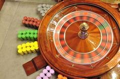 Roulettewiel royalty-vrije stock afbeelding