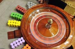 Roulettewiel stock fotografie